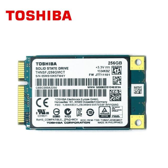 Upgrade To 256GB SSD Installed - Toshiba - shop.remarkit