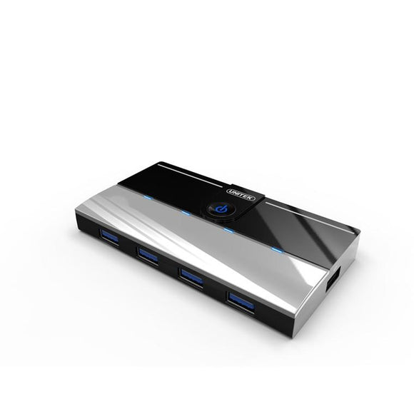 Unitek - Y-3178 - 4 Port USB3.0 Hub + 1 Port Charging - shop.remarkit