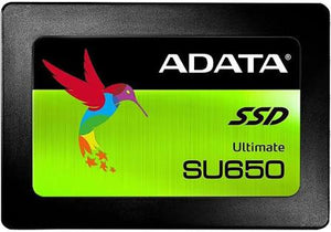 "ADATA - SU650 Ultimate SATA 3 2.5"" 3D NAND SSD 120GB - shop.remarkit"