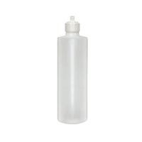 16oz Squeeze Bottle with Flip Top Cap