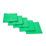 "Glass & Window Edgeless Microfiber Towel, Green 16"" x 16"""
