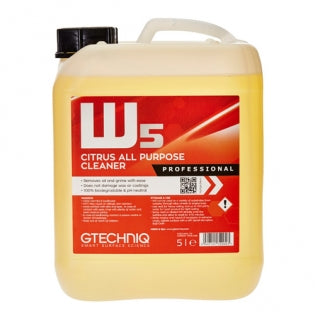 W5 Citrus All Purpose Cleaner - 5 Liters