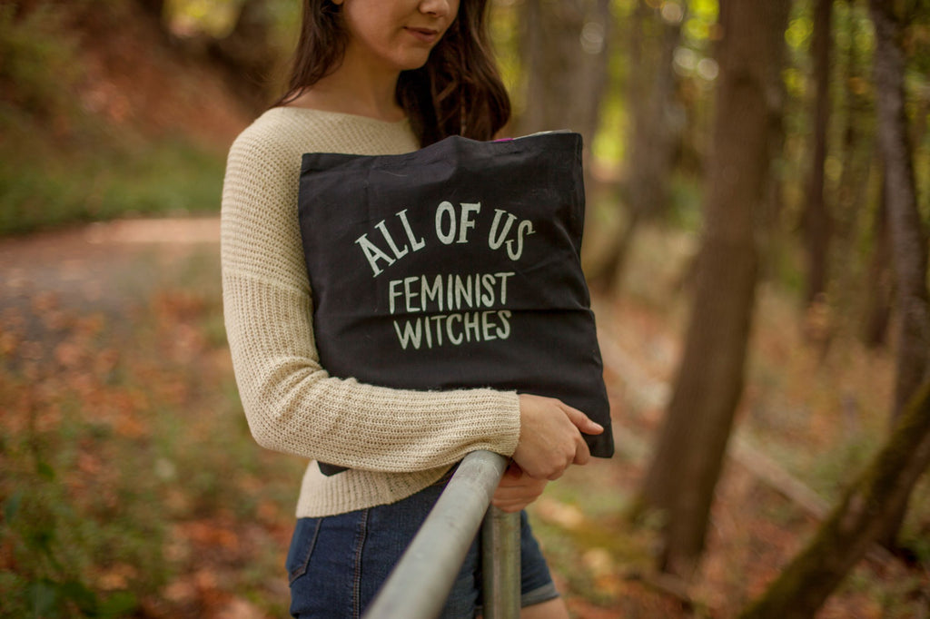 All Of Us Feminist Witches Tote Bag