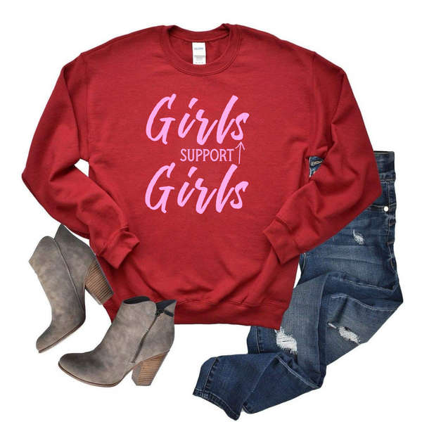 Girls Support Girls Sweatshirt