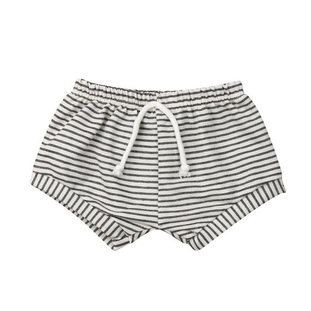 Oliver Stripes Cotton Shorts
