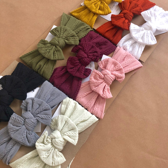 Sofia Knot Super Soft Headband - 9 colours
