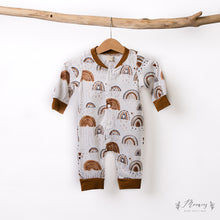Load image into Gallery viewer, Rustic Rainbow Romper