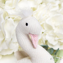 Load image into Gallery viewer, Knitted Sofia Swan