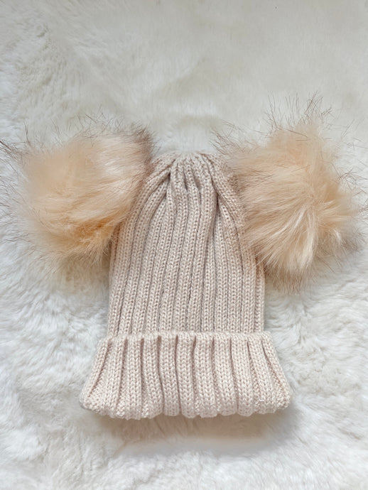 Winter Warmer Hat Wheat