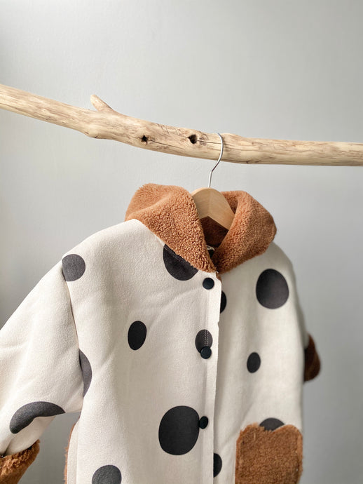 Spotty Teddy Coat