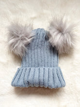 Load image into Gallery viewer, Winter Warmer Hat Grey