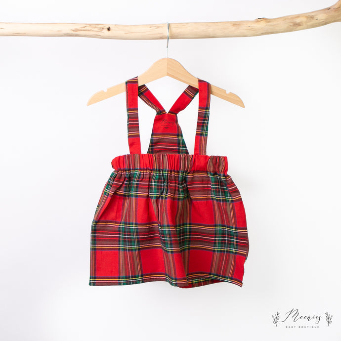 Christmas Tartan Dress