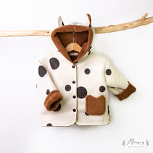 Load image into Gallery viewer, Spotty Teddy Coat