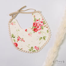 Load image into Gallery viewer, Floral Reversible Bib