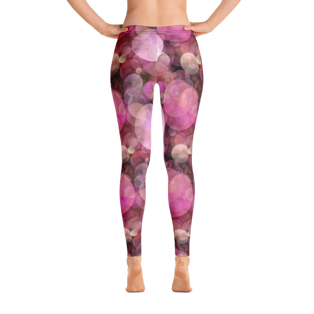 Pink Bubbles Leggings