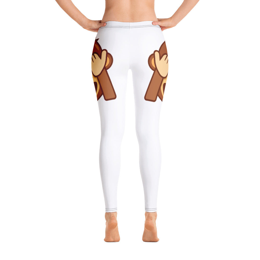 See No Evil Monkey Side Leggings
