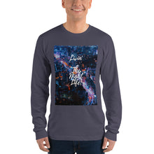 Load image into Gallery viewer, Livin The Night Life Long sleeve t-shirt