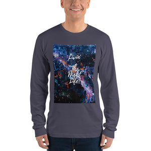 Livin The Night Life Long sleeve t-shirt