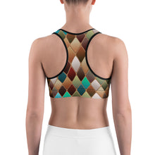 Load image into Gallery viewer, Abstract 1 Sports bra