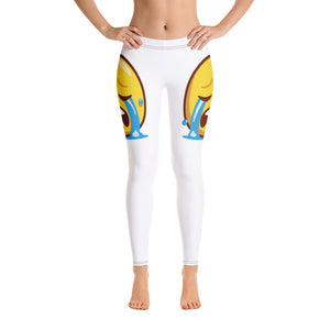 Crying Face Side Leggings