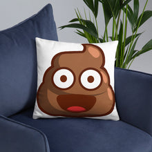 Load image into Gallery viewer, Pile of Poo Basic Pillow