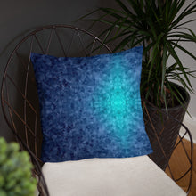 Load image into Gallery viewer, Blue Texture Basic Pillow