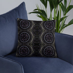 Fractal Flower Premium Pillow