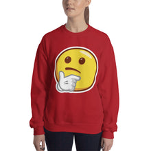 Load image into Gallery viewer, Thinking Face Sweatshirt