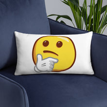 Load image into Gallery viewer, Thinking Face Basic Pillow