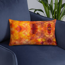 Load image into Gallery viewer, Orange Pattern Premium Pillow