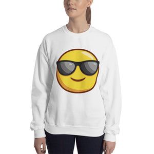 Smiling Face with Sunglasses Sweatshirt