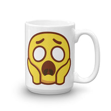 Load image into Gallery viewer, Scared Face Mug