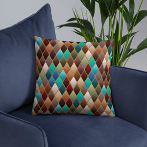 Abrstract 1 Premium Pillow