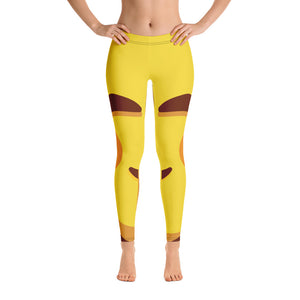 Smiling Face Full Leggings