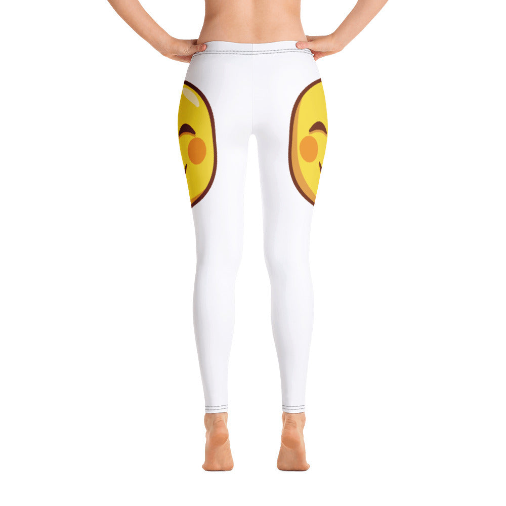 Smiling Face Side Leggings
