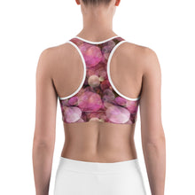 Load image into Gallery viewer, Pink Bubbles Sports bra