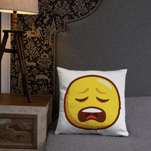 Load image into Gallery viewer, Weary Face Basic Pillow