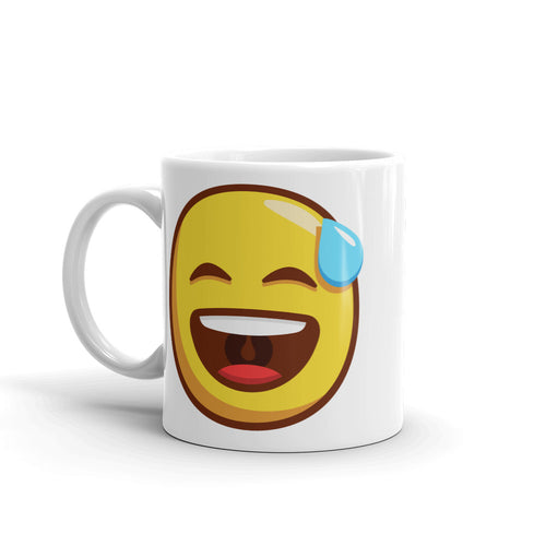 Open Mouth Cold Sweat Mug