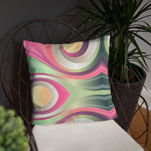 Load image into Gallery viewer, Abstract Swirl Basic Pillow