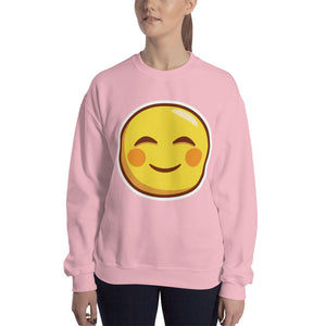 Smiling Face Unisex Sweatshirt