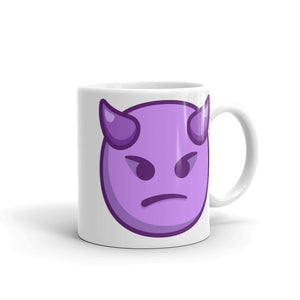 Angry Face with Horns Mug