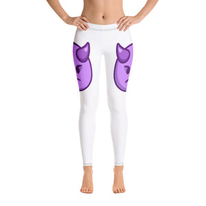 Angry Face With Horns Side Leggings