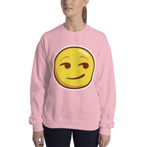 Smirking Face Unisex Sweatshirt