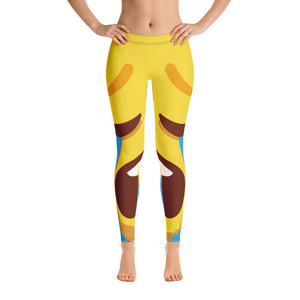Crying Face Full Leggings