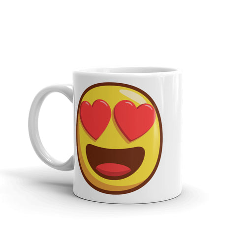 Heart Shaped Eyes Mug