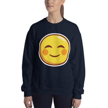 Load image into Gallery viewer, Smiling Face Unisex Sweatshirt