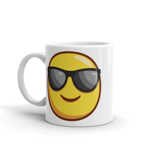 Smiling Face with Sunglasses Mug
