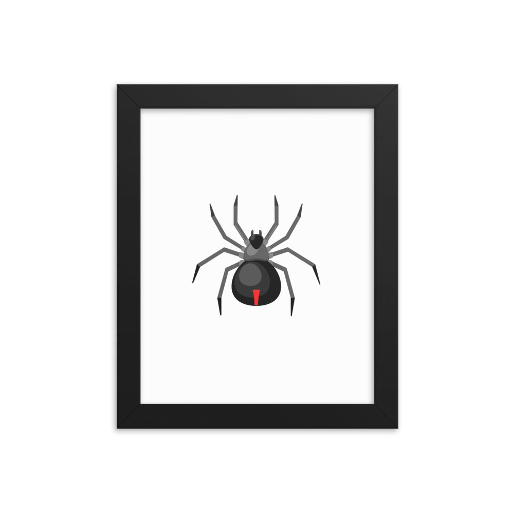 Spider Framed poster