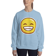 Load image into Gallery viewer, Grinning Face Unisex Sweatshirt