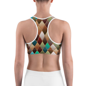 Abstract 1 Sports bra